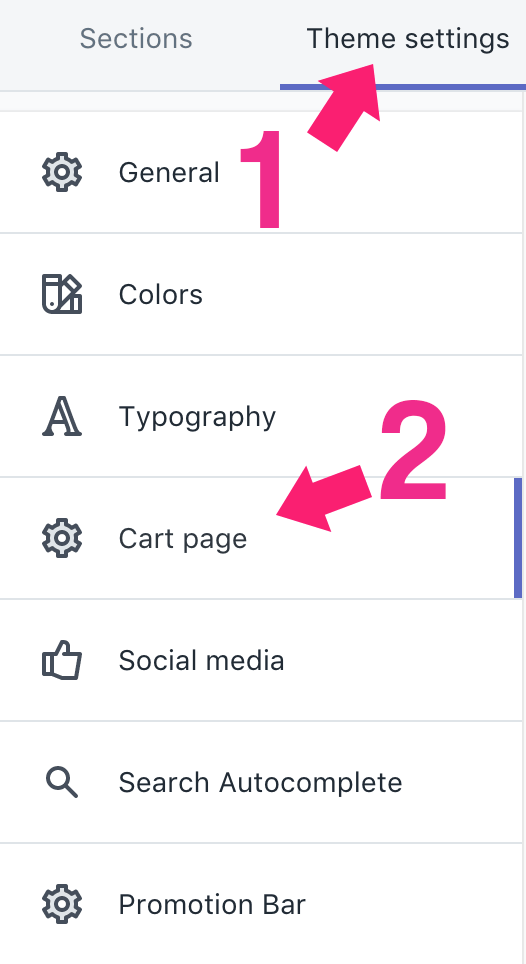 How to add trust badge to cart page