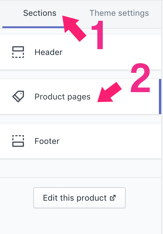 How to add trust badge to product